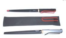 Супер-высокие волокно нубука кожа удлинить ручка пенал лами радость серии авторучка серии