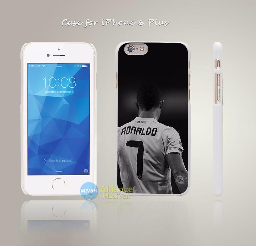 HC75 Cristiano Ronaldo CR 7 Soccer Dark Style Hard White Case Cover Coque for iPhone 4 4s 4g 5 5s 5g 5c 6 6s 6 6s Plus