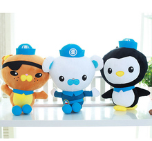 3 styles 50cm Octonauts PESO Kwazii Barnacles plush toy doll Brinquedos Kids Toys Dolls For Children Gifts(China (Mainland))