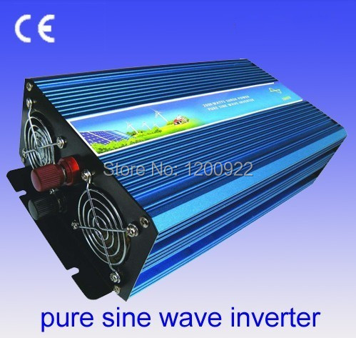inversor painel solar 3500w Inversor DC24V 3500w pure sine wave adapter solar wind power Inversor power supply adapter(China (Mainland))