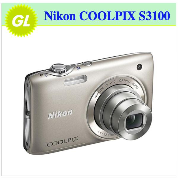 S3100 Original Nikon COOLPIX S3100 5x Optical Zoom,4x Digital Zoom,14MP Sensor Resolution Digital Camare Free Shipping!!!(China (Mainland))