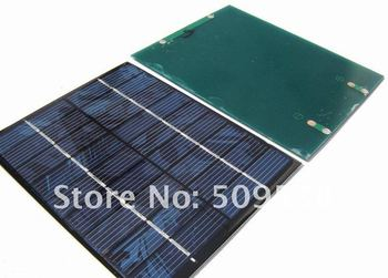 Free Shipping: Solar Battery 6V 2W, Mini Solar Panel, Solar Cell for DIY Battery Charge Use, 5 pcs/lot