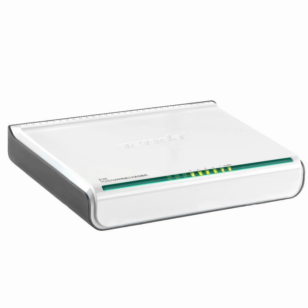 Tenda S105 Network Swich 5 Ports 10/100Mbps Fast Ethernet RJ45 Switcher Lan Hub MDI Full/Half duplex exchange Global warranty(China (Mainland))