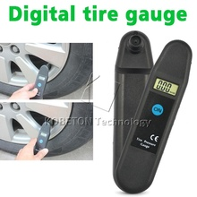 New Digital Auto Wheel Tire Air Pressure Gauge Meter Tyre Tester Vehicle Motorcycle Car 5-150 PSI KPA BAR KG/CM2 LCD Detector(China (Mainland))