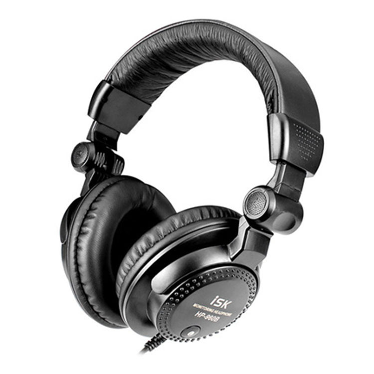 Brand New Over ear ISK HP-960B Professional Studio Monitor Dynamic Stereo DJ Headphones HD headset Free shipping<br><br>Aliexpress