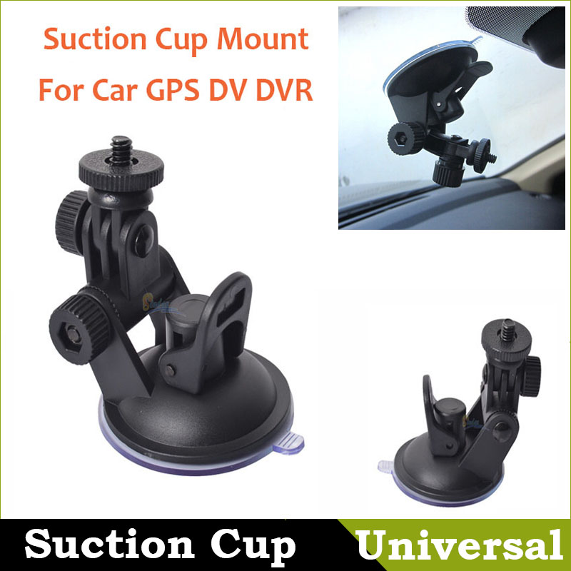 Hot Sale!! Universal Mini Car Suction Cup Mount Tripod Holder Car Mount Holder for Car GPS DV DVR Camera Universal Accessories(China (Mainland))