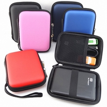 Portable Zipper External 2.5 HDD Bag Case Pouch Hard Drive Bag For Protection For 2.5 GPS Hard Disk Drive