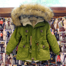 Children outerwear winter Hooded coats Winter Jacket Kids Coat Lamb wool children's winter clothing Girls Down & Parkas GC06