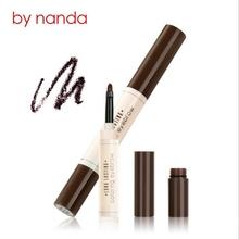 BY NANDA Professional Waterproof Makeup Eyebrow Set Tint My Brows Gel Long Lasting Grey Brown Henna Eyebrow Tattoo Dye Gel(China (Mainland))