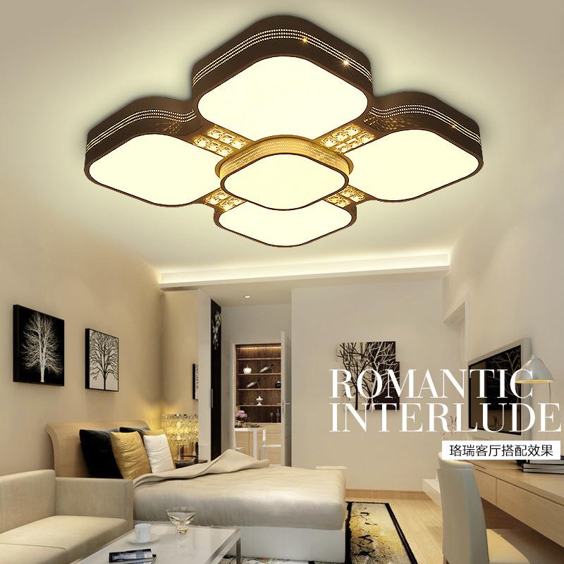 led warm square light creative modern led ceiling light