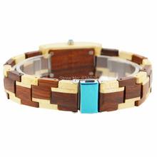 2014 Hottest sales wood retro wrap bracelets watch Vintage style wave wrap wood bracelets watch for