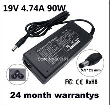 Universal AC Power Adapter Charger 19V 4.74A 90W For ASUS Toshiba HP Leonovo 5.5*2.5mm Charger For Laptop