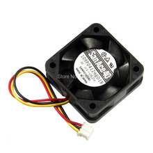 RepRap Mini Cooler fan 12V DC for 3D printer stepper motor Pololu A4988 cooling