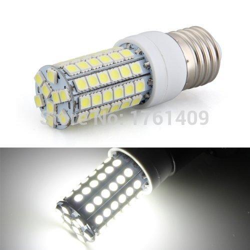 E27 LED Corn Light 8W AC220V White 5050 SMD 69 LEDs Corn Spot Light Lamp Bulb Energy Saving 6500K 500LM(China (Mainland))
