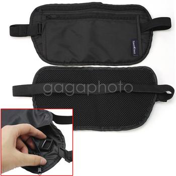 Travel Pouch Security Zipped Passport Cash Card Waist Bum Belt Bag Holder Hot