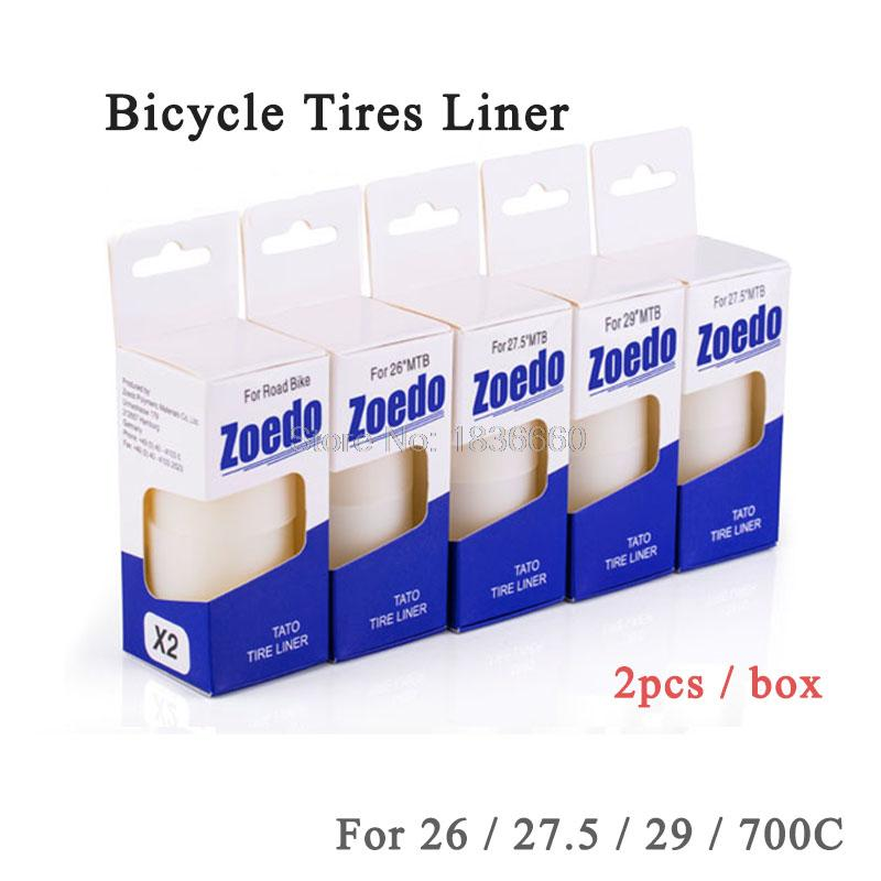 Made in Germany Zoedo MTB Road bicycle tire liner Puncture proof 26 27.5 29 700C mountain Bike Tire tyre protection pad 2pcs(China (Mainland))