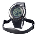 Chest Strap Heart Rate Monitor Calories Pedometer Digital Pulse Mutifunction Sports Watches Exercise BMI Memory Mode