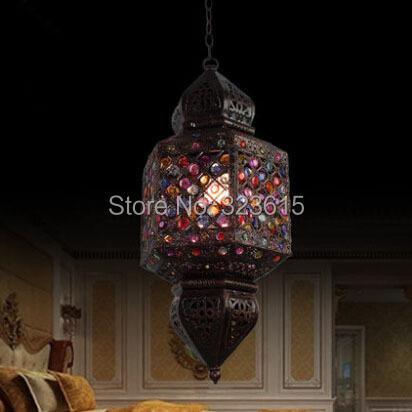 European Style Light Garden Restaurant Living Room Lustres Bedroom Pendant Lamps(China (Mainland))