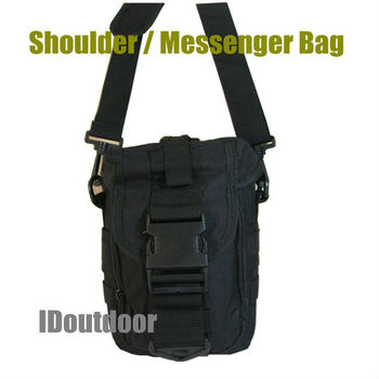Cross Messenger Shoulder bag Security tool pouch  Military Sports Camping Nylon MOLLE outdoor