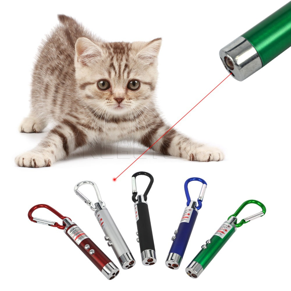3 in 1 Funny Pet stick Childrens Cat Toys Red Laser Pointer Pen With White +Purple LED Light Show Key Chain Money Detector Pen(China (Mainland))