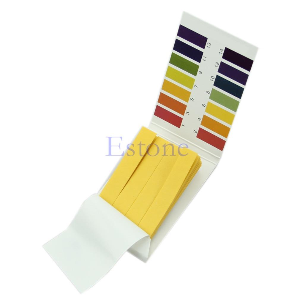 80pcs Range pH 1-14 Test Testing Indicator Paper Litmus Strips Kit Universal