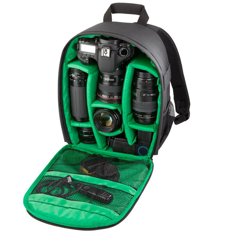 2015 New Photography Digital DSLR Camera Bag Backpack Waterproof Photo Camara Bags Case Mochila Hot! Free Shipping(China (Mainland))