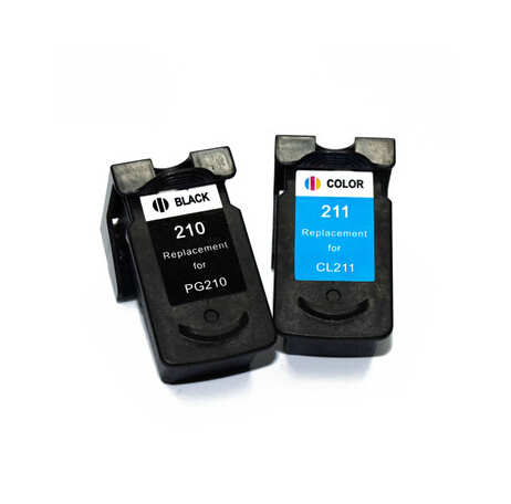 Free Shipping , PG210XL +CL210XL Ink Cartridge For Canon PG-210 XL CL-211 XL for Canon MP240 MP250 120ML Printer Ink Cartridge<br><br>Aliexpress