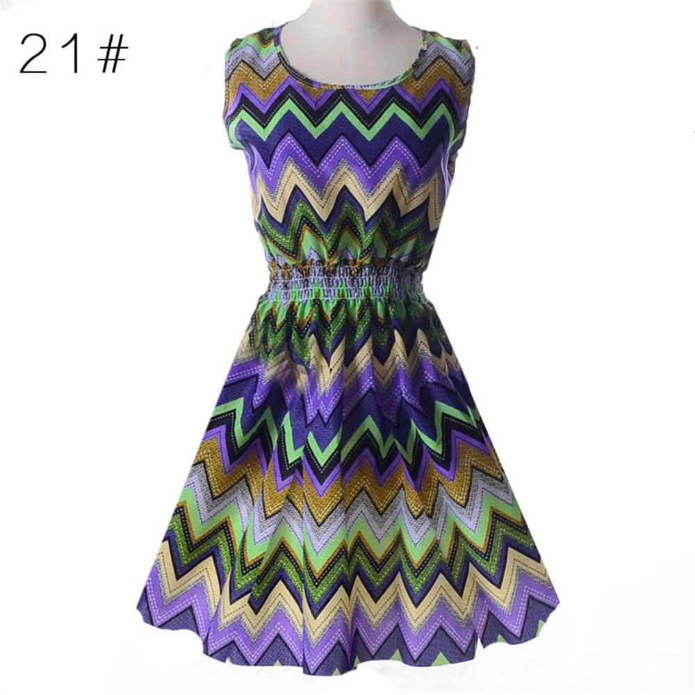 Fashion Tunic Women Dress 2016 Plus Size XXL O-neck WOMEN DRESS Summer Style Floral Print Casual Dresses Women Vestidos Woman (47)