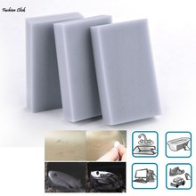 New 100pcs 100x60x20mm Magic Sponge Eraser Melamine Cleaner Gray Multi-functional Cleaning Wholesale Retail Esponja Magica 4S(China (Mainland))