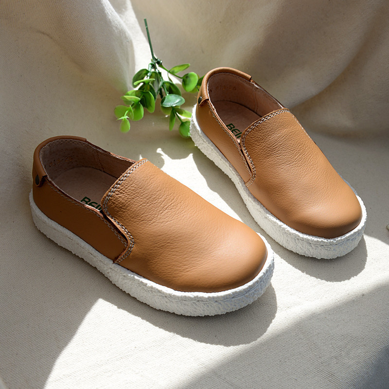 New Top quality Wholesale Children Fashion Sneakers Kids Genuine leather Boys school Shoes Sport shoes Boat Shoes Free shipping(China (Mainland))