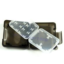 "Y92-""New Plastic Case For Micro SD TF Memory Card Storage Holder Box Protector(China (Mainland))"