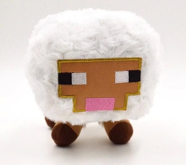 2016 Sleepy Sheep Plush Toy catroon Baby Sheep Stuffed doll Toy lovely Animals Plush Boy&Girl birthday gift Plush Doll for kids(China (Mainland))