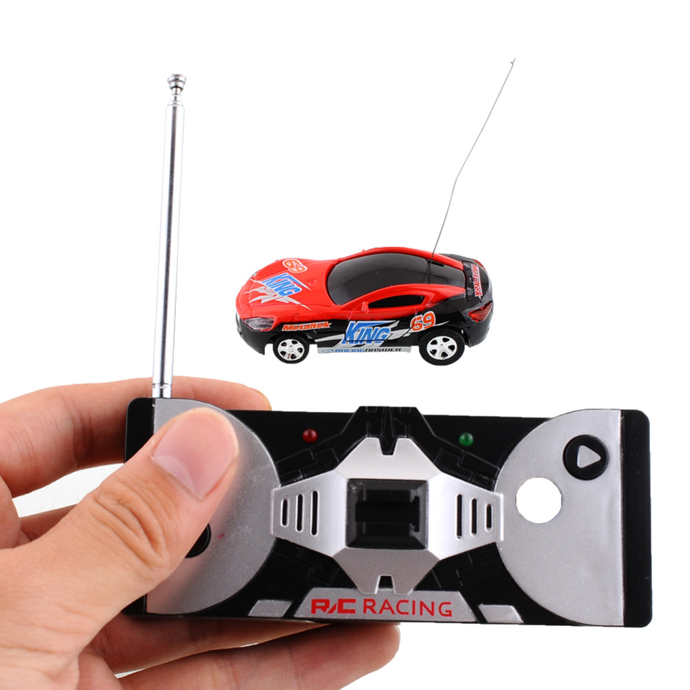 Multicolor Coke Can Mini Speed RC Remote Control Micro Racing Car Vehicle Gift Good Quality(China (Mainland))