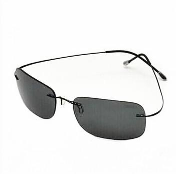 Silhouette Sunglasses Titanium Rimless ultra-light Polarized Women Men Sun Glasses Summer Style Free Shipping(China (Mainland))