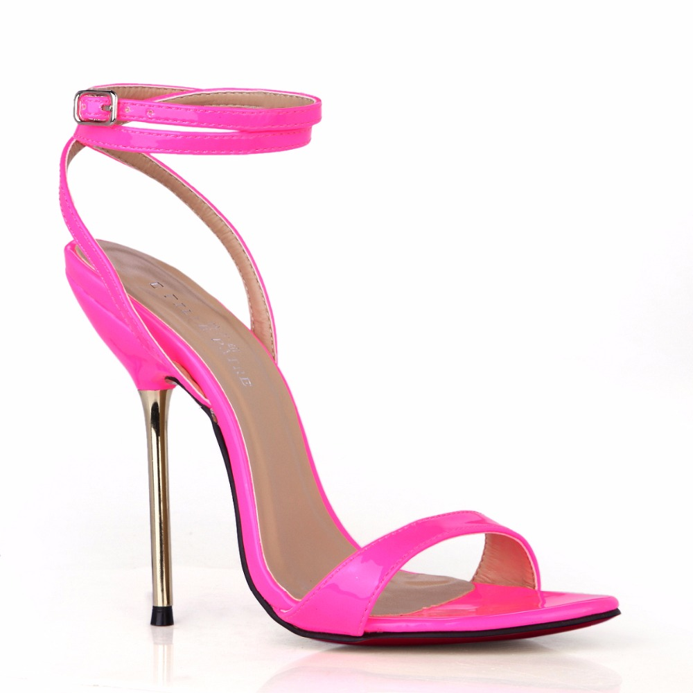 Red Bottom Fashion Sandals Sexy High Heel Shoes Large Size Zapatos ...