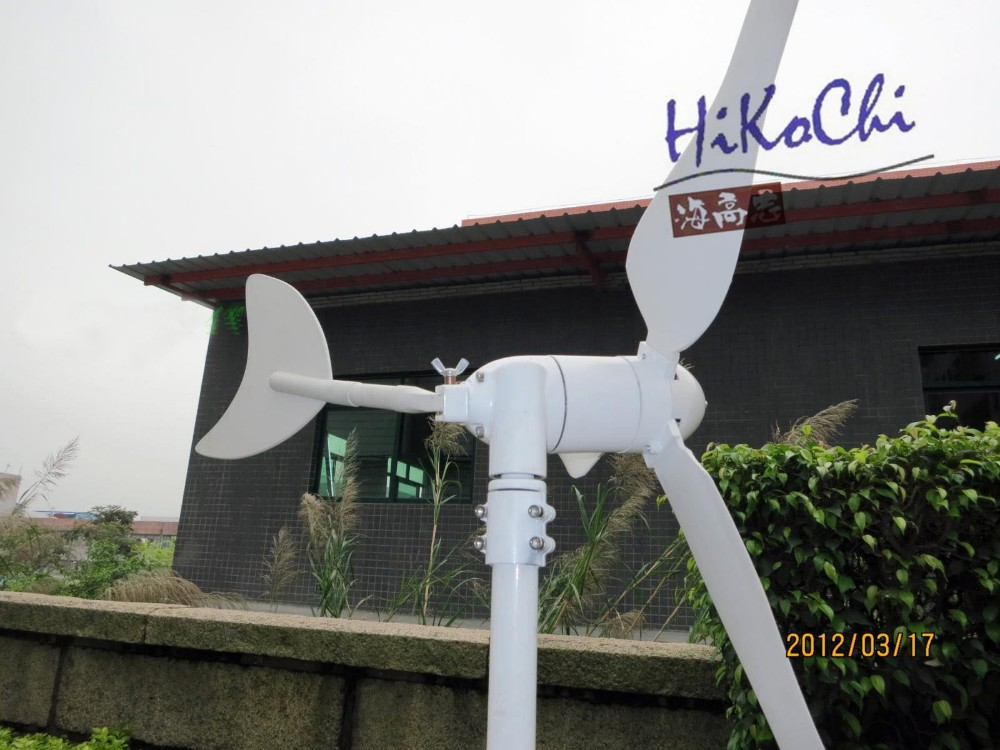 100W windmill wind turbine wind generator built-in controller start wind speed 2m/s 10year lifetime CE certificate free shipping(China (Mainland))