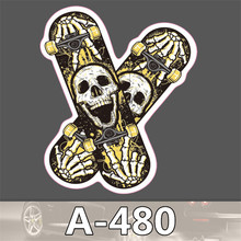 Car styling decor car sticker on auto laptop sticker decal motorcycle fridge skateboard doodle stickers car accessories A-480