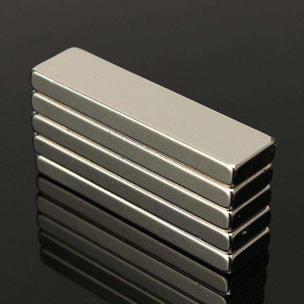 15 pcs/Lot _ N35 Strong Block Cuboid Magnets Rare Earth Neodymium 40x10x4 mm