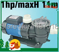 0.75KW/1HP SWIMMING POOL PUMP with Filter, pool filter pump Max Flowrate 275 L/min (16500 L/H) Max head 11M(China (Mainland))