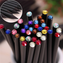 Buy 12Pcs/Set Pencil Hb Diamond Color Pencil Stationery Items Drawing Supplies Cute Pencils School Basswood Office School Cute for $2.27 in AliExpress store