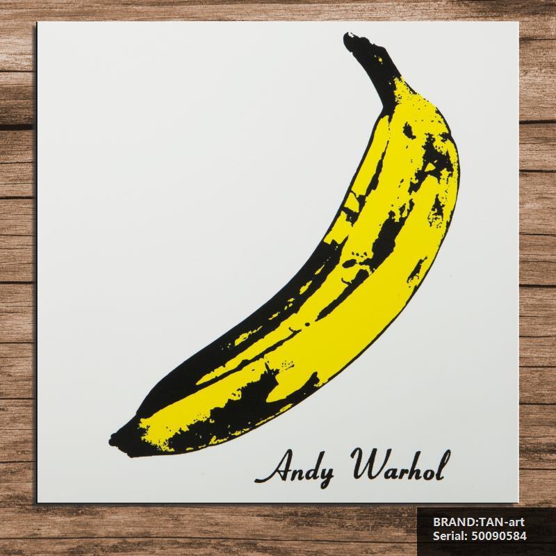 Warhol Andy pop big banana Portrait Classical oil Painting Drawing art Spray Unframed Canvas figure Waterproof wine50090584(China (Mainland))