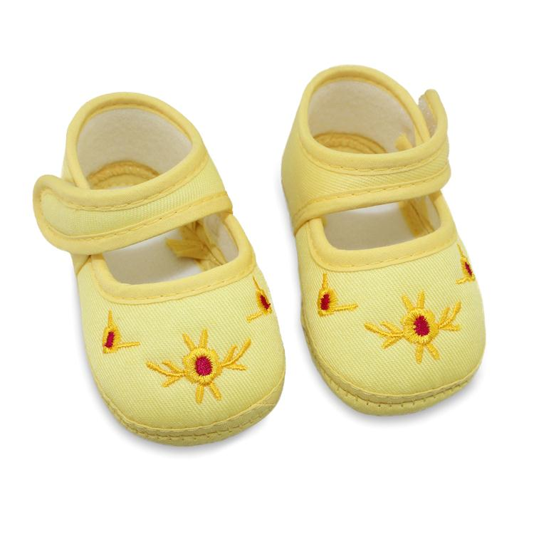 Baby Shoes Kids Cotton First Walkers Skid Proof Sapato Infantil Baby Girls Shoes For  Free Shipping