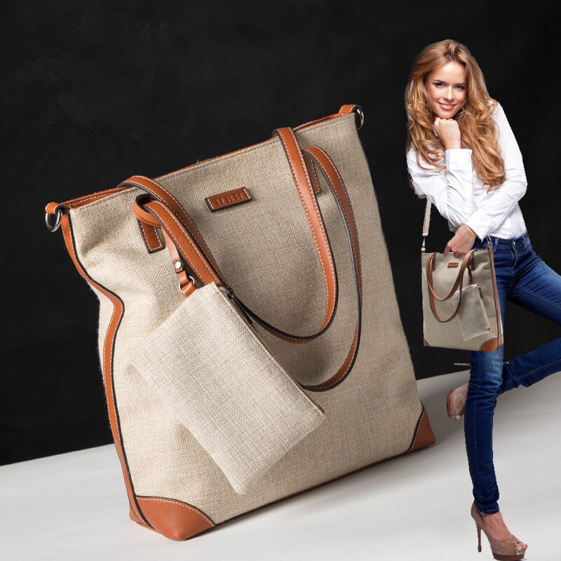 New 2015 Retro Women Handbag Famous Brand Women's Messenger Bags Canvas Shoulder Bag Europe & America Fashion Female Tote Bag(China (Mainland))