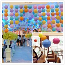 Wholesale DHL Paper Lanterns Lamp, Chinese Paper Lantern Party Wedding Shopping Mall Home Decoration- 500Pcs/Lot Free Shipping(China (Mainland))