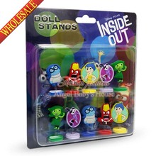 Hot sale 10 PCS/lot Lovely Inside Out spring doll toy Action figure travel accessories kids exquisite gifts party favor gifts(China (Mainland))