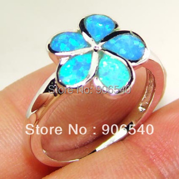 Sea life Ring Opal Jewelry DSC00274 Free Shipping