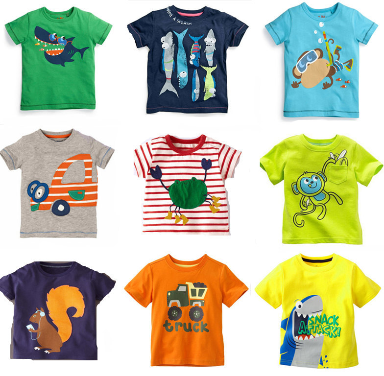 Retail Brand Free shipping 2015 new arrival boys t-shirts t shirt for baby boy tops blouse childrens kids&baby clothes 64-84(China (Mainland))