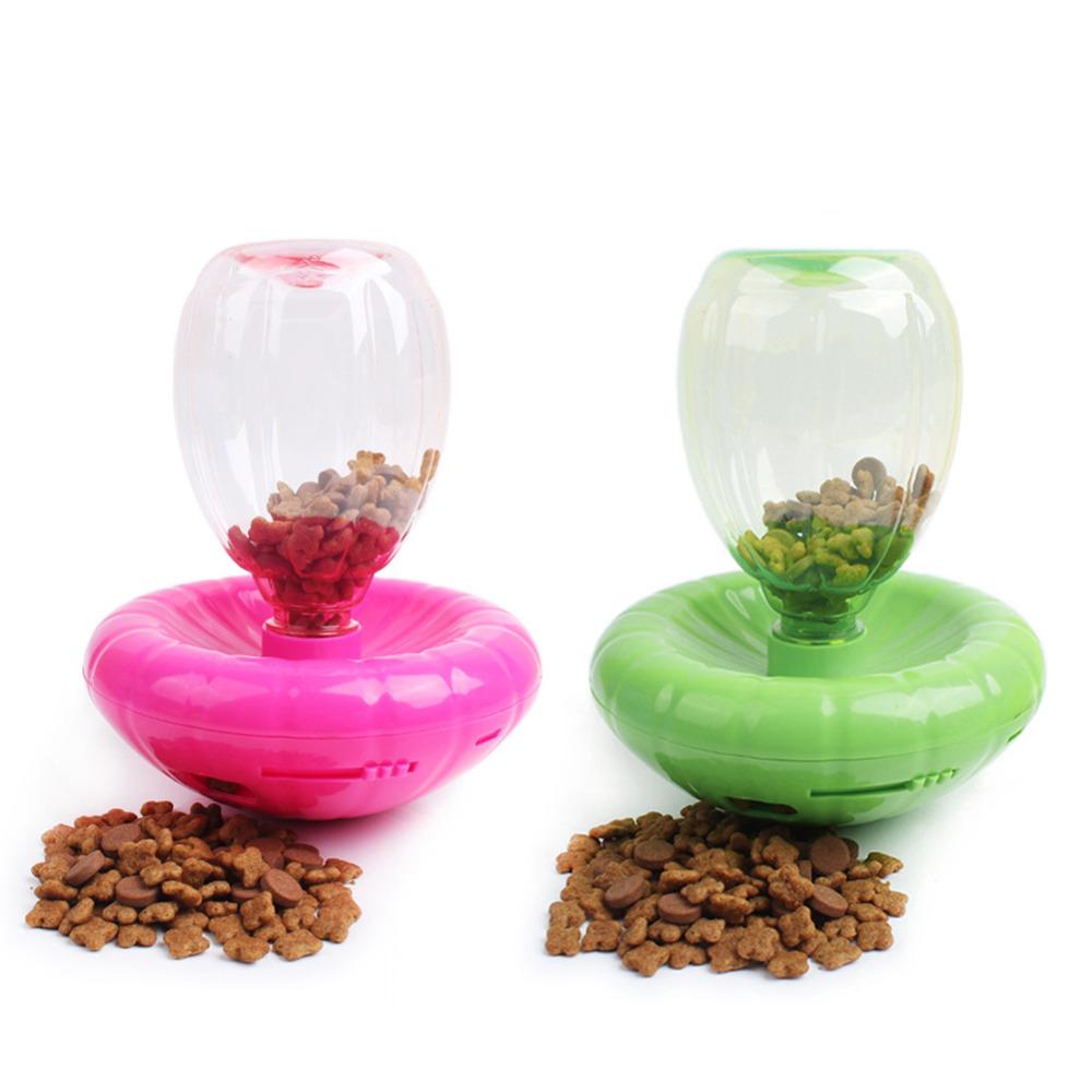 Pet Supplies Pet Dog Cat Tumbler Automatic Feeder Dog Auto Feeding Bowl Pet Playing Toy(China (Mainland))