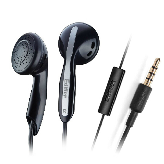 3.5mm In-Ear Headphones Earphones headset With Microphone For Iphone Samsung HTC Lenovo Huawei Sony Nokia ALL Mobile phones