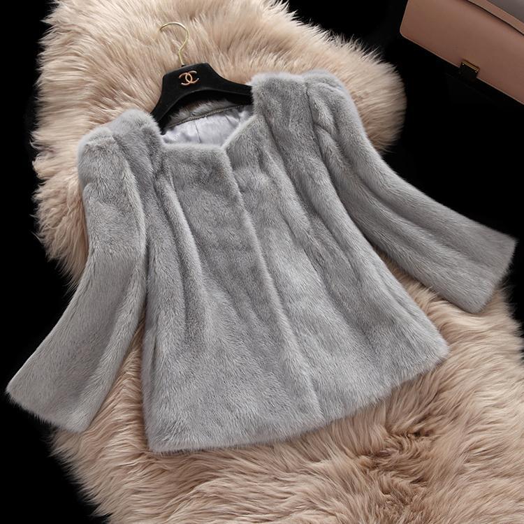 Real mink coat women fashion hot new style grey winter mink fur coatОдежда и ак�е��уары<br><br><br>Aliexpress